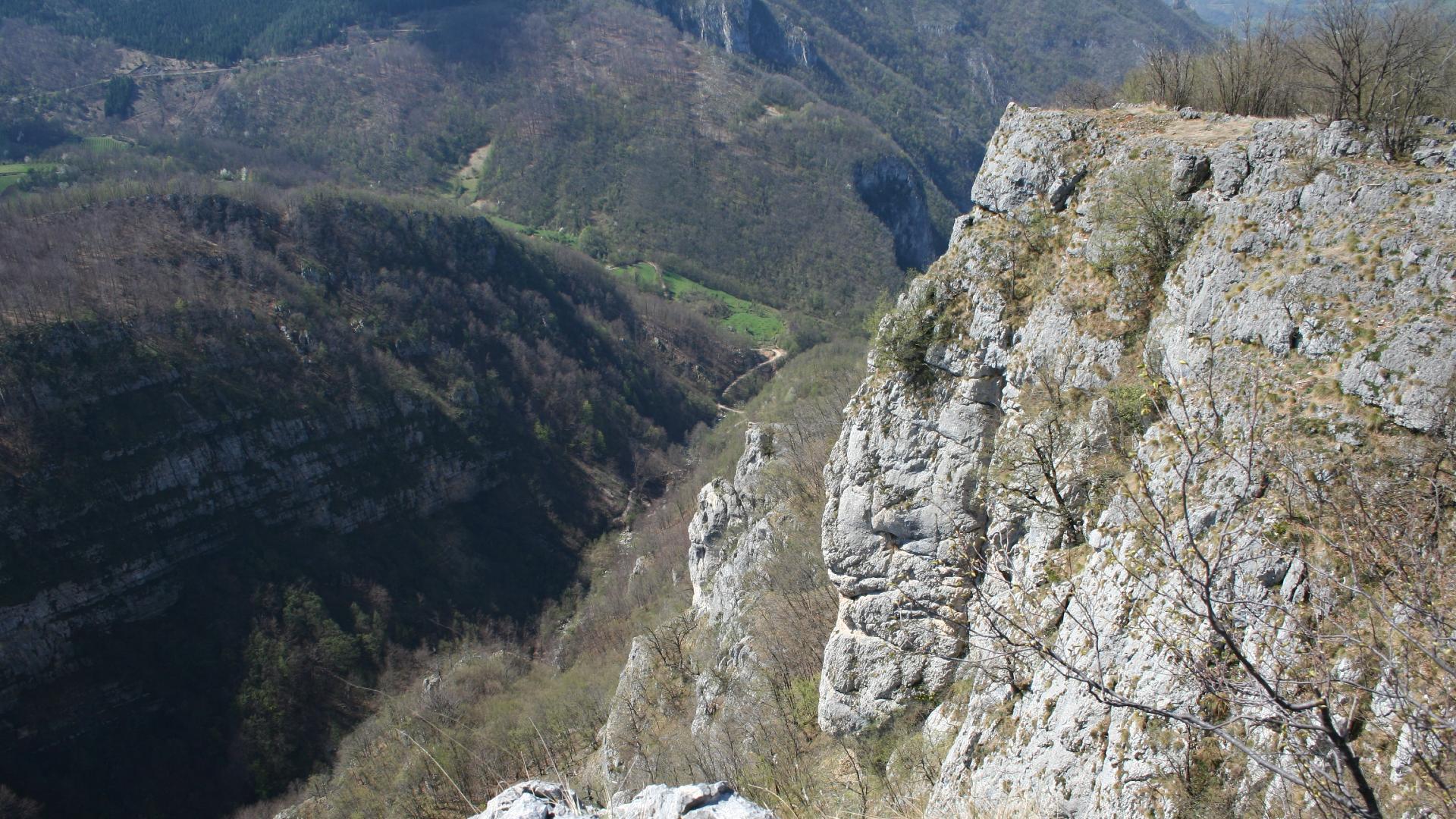 Kanjon reke Trešnjice